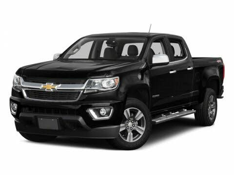 2015 Chevrolet Colorado Work Truck Crew Cab RWD