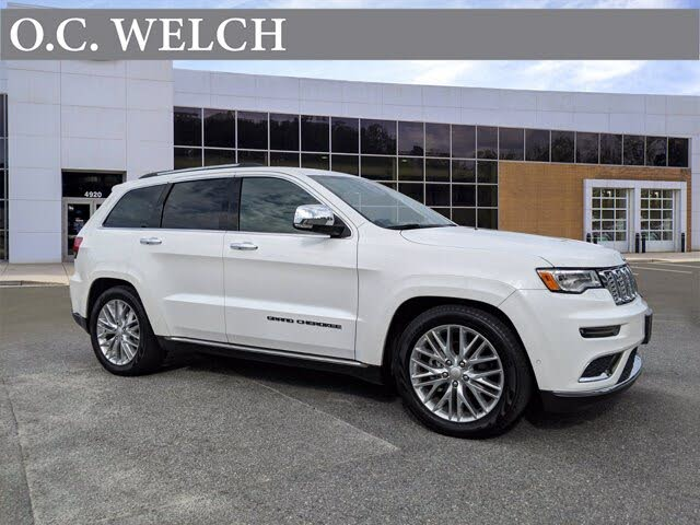 2018 Jeep Grand Cherokee Summit 4WD