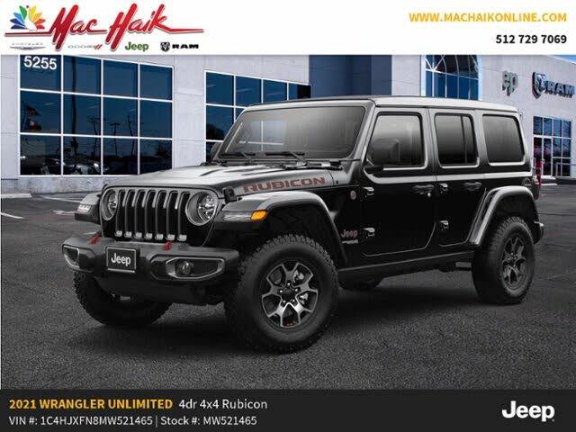 2021 Jeep Wrangler Unlimited Rubicon 4WD for Sale in ...
