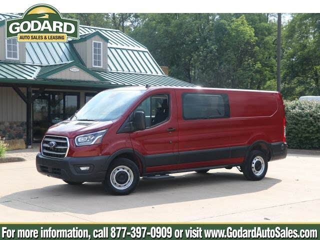 2020 Ford Transit Crew 250 Low Roof RWD with Sliding Passenger-Side Door
