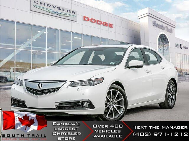 2015 Acura TLX V6 with Elite Package