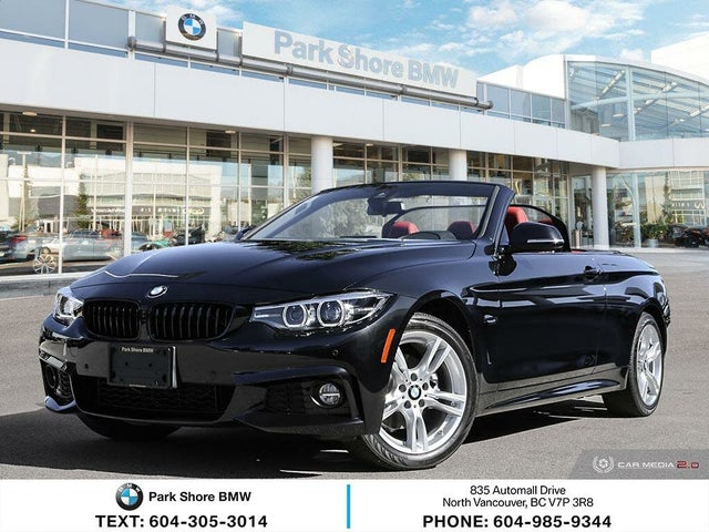 2020 BMW 4 Series 430i xDrive Convertible AWD