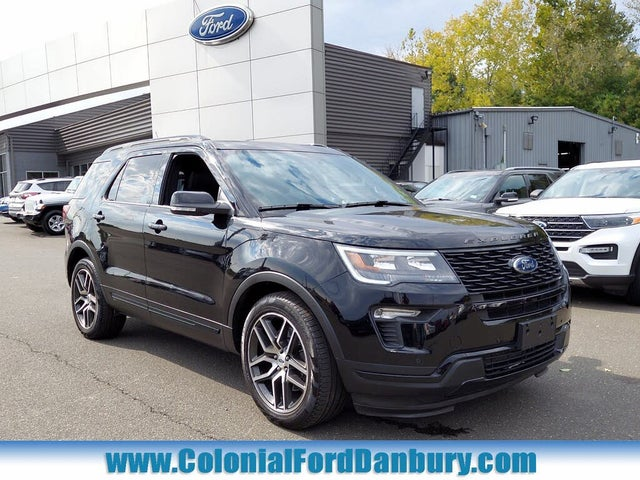 Colonial Ford Danbury Ct >> 2018 Ford Explorer Sport AWD for Sale in Connecticut ...