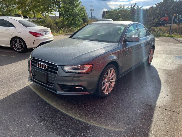 2014 Audi A4 2.0T quattro Technik Sedan AWD