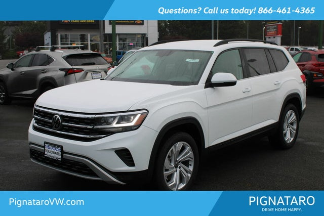 2021 Volkswagen Atlas 3.6L SE 4Motion AWD with Technology
