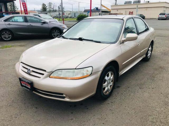 2002 Honda Accord EX with Leather