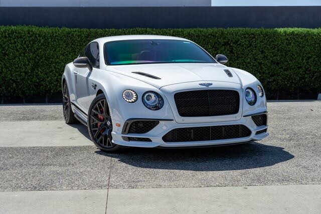 2017 Bentley Continental Supersports Coupe AWD