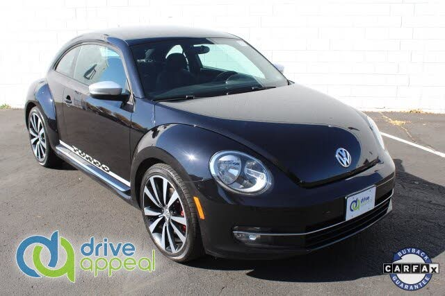 2012 Volkswagen Beetle Black Turbo