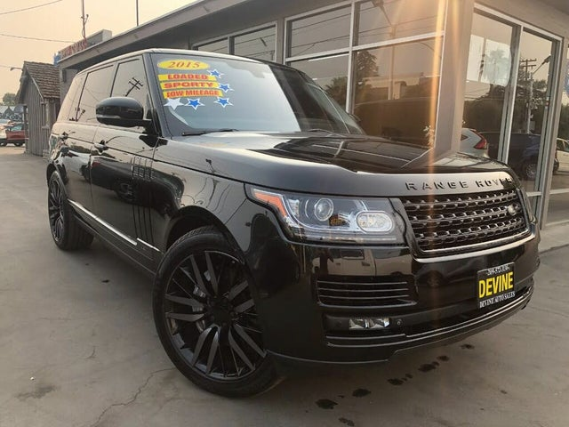 2015 Land Rover Range Rover V8 Supercharged LWB 4WD