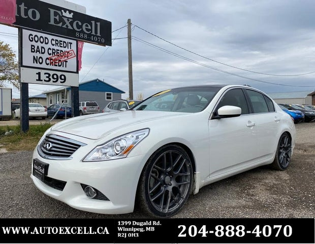 2011 INFINITI G37 x Sport Appearance Edition Sedan AWD