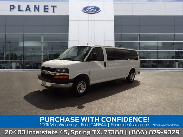 2015 Chevrolet Express 3500 1LT Extended RWD