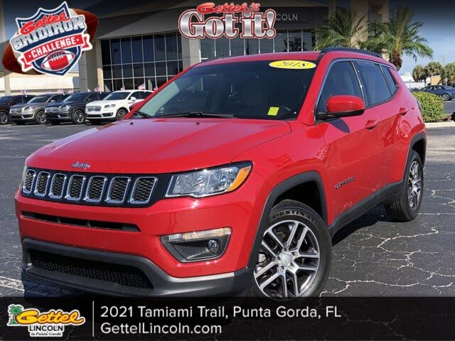 2018 Jeep Compass Sun and Wheel Edition FWD