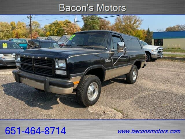 1992 Dodge Ramcharger 150 Canyon Sport 4WD