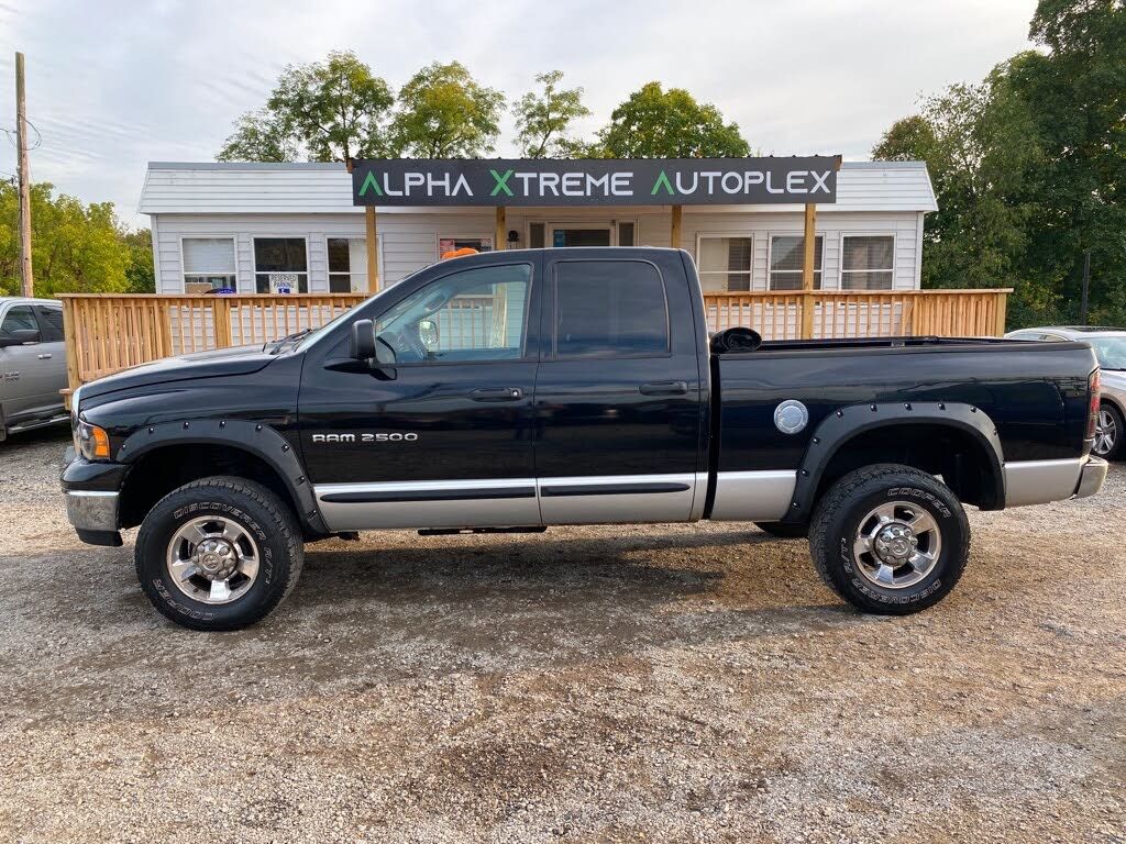Used 2004 Dodge Ram 2500 For Sale Right Now Cargurus