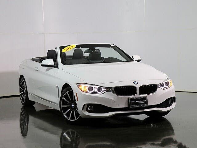 2015 BMW 4 Series 428i Convertible RWD