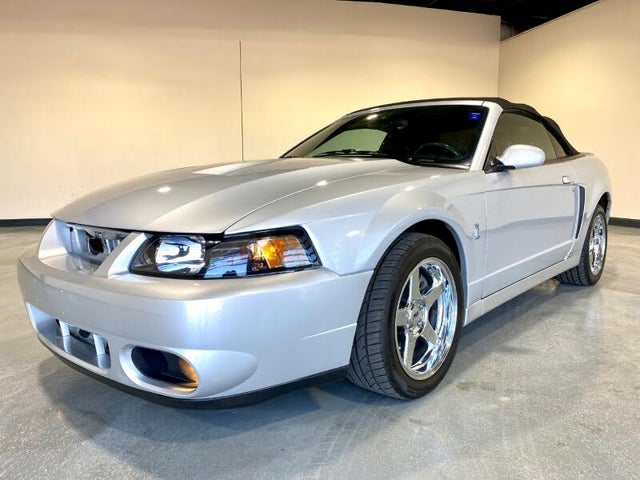 2004 Ford Mustang SVT Cobra Supercharged Convertible