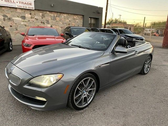 2012 BMW 6 Series 650i Convertible RWD