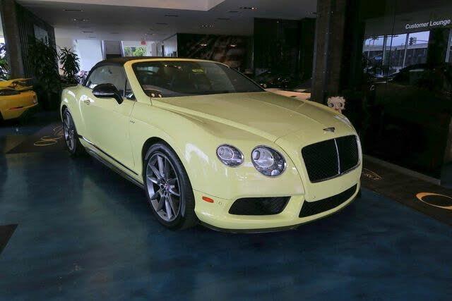 2015 Bentley Continental GTC V8 S AWD