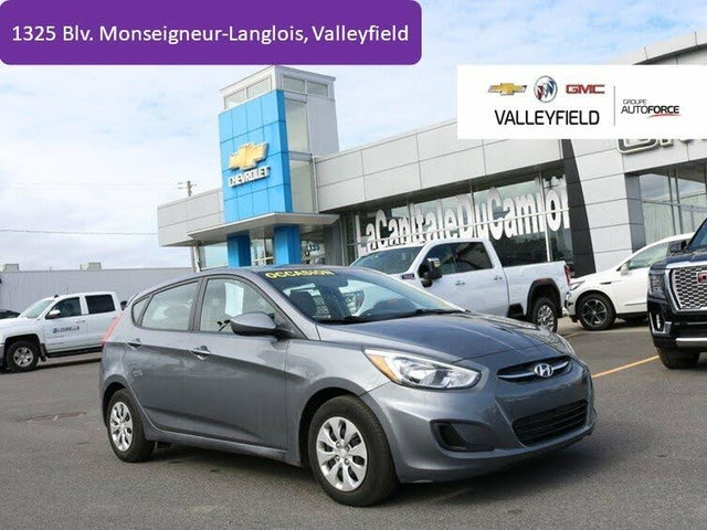 2017 Hyundai Accent GL 4-Door Hatchback FWD