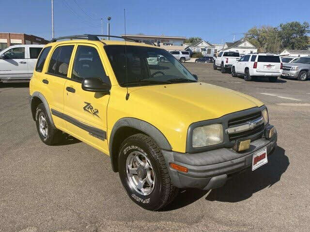 2002 Chevrolet Tracker ZR2 4-Door 4WD