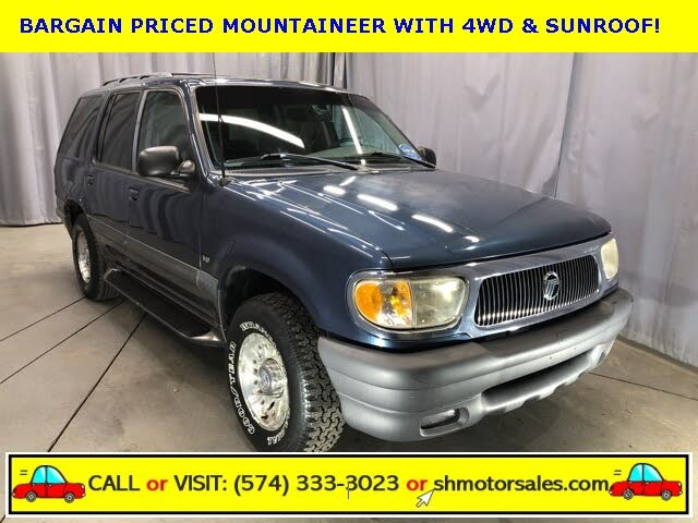 used 1998 mercury mountaineer for sale right now cargurus used 1998 mercury mountaineer for sale