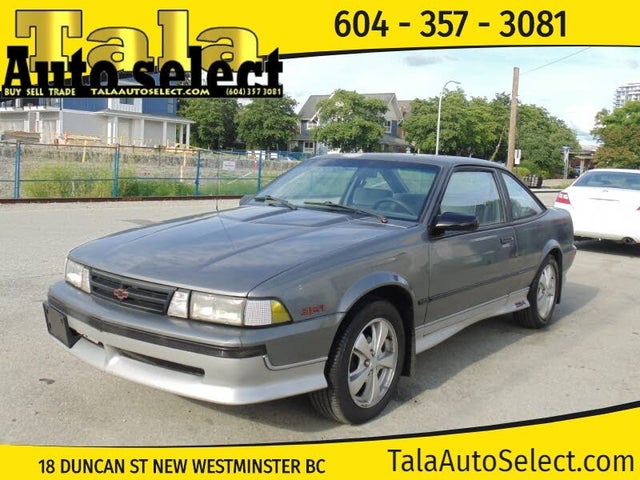 1988 Chevrolet Cavalier Z24 Coupe FWD