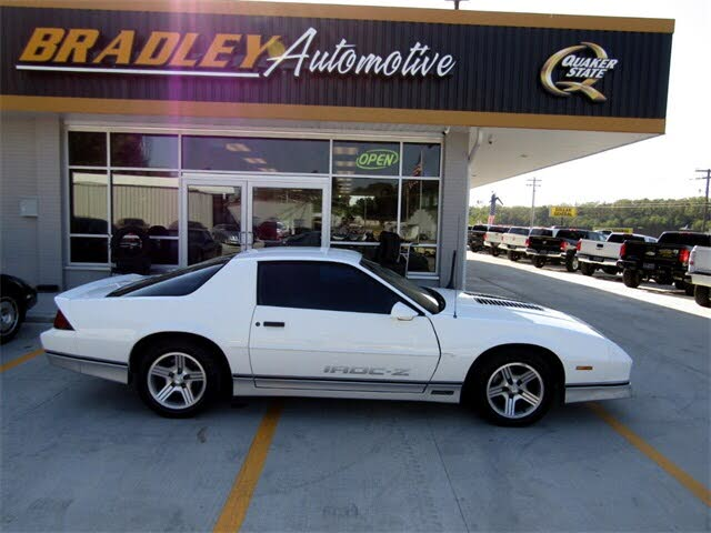 used 1990 chevrolet camaro iroc z coupe rwd for sale right now cargurus iroc z coupe rwd