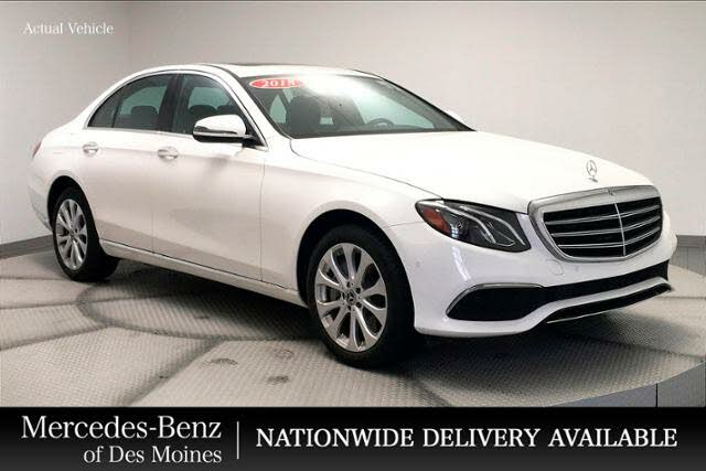2018 Mercedes-Benz E-Class E 400 4MATIC Sedan AWD