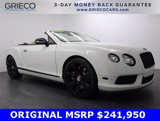 2014 Bentley Continental GTC V8 S AWD