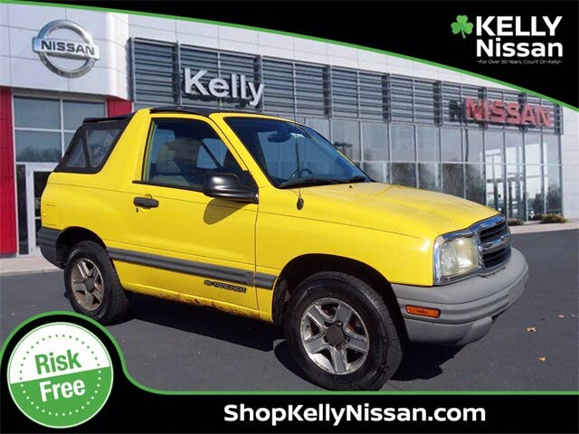 2003 Chevrolet Tracker 2-Door Soft Top 4WD