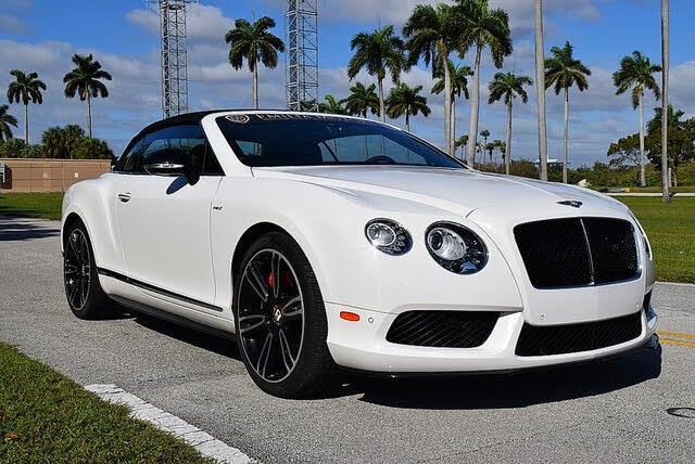 2015 Bentley Continental GTC V8 S AWD