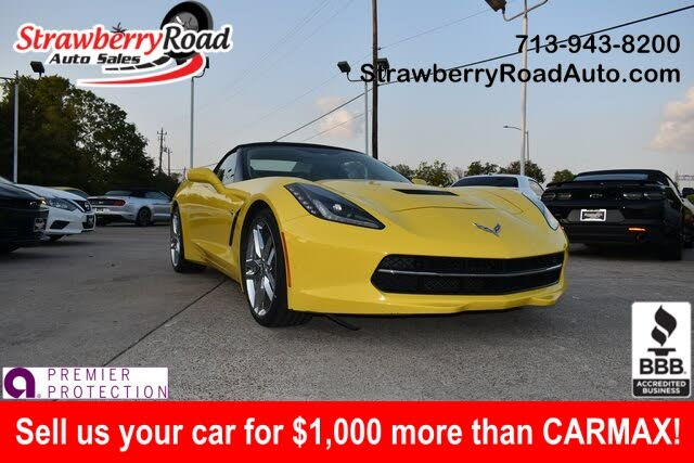 2019 Chevrolet Corvette Stingray 3LT Convertible RWD