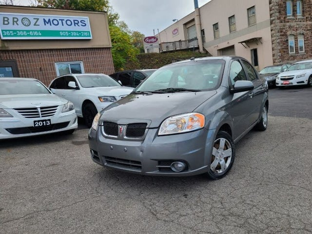 2009 Pontiac G3 Wave SE Sedan FWD