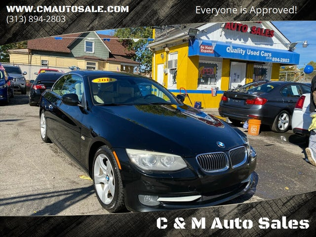 2011 BMW 3 Series 335i Convertible RWD