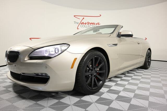 2013 BMW 6 Series 640i Convertible RWD