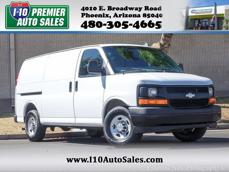 Used Chevrolet Express Cargo For Sale In Gilbert Az Cargurus
