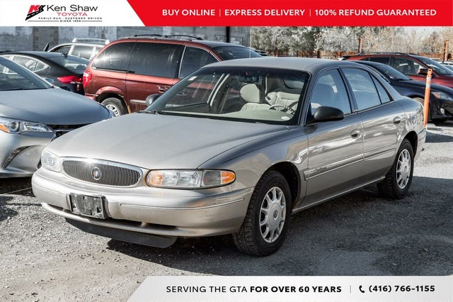 1999 Buick Century Custom Sedan FWD