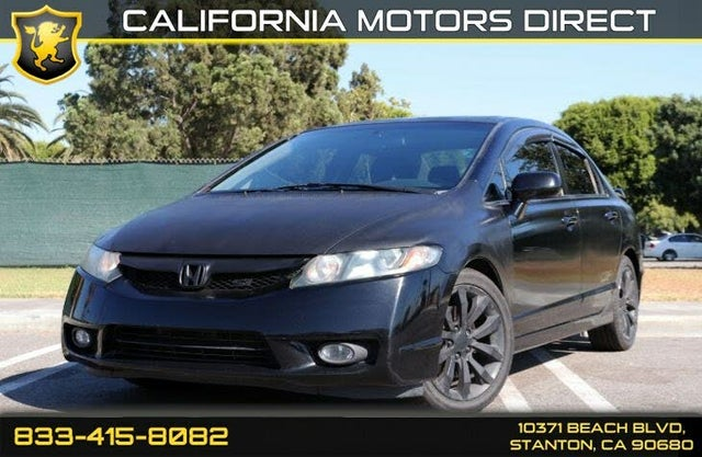 2009 Honda Civic Si with Summer Tires