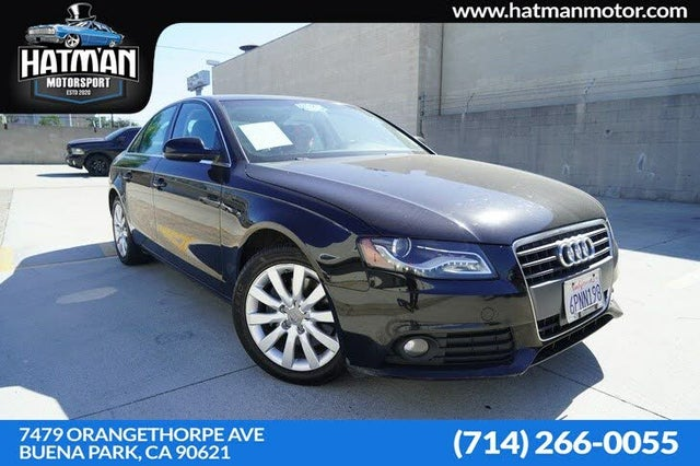 2011 Audi A4 2.0T quattro Premium Plus Sedan AWD