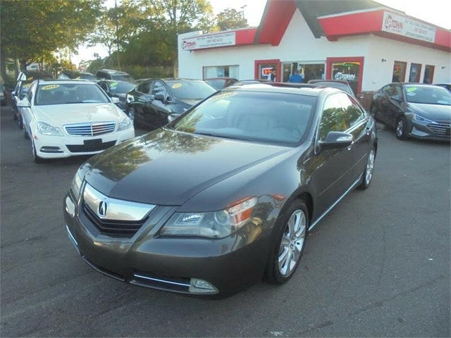 2010 Acura RL SH-AWD with Technology Package, CMBS, and ACC Package