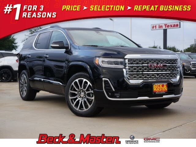 2021 gmc acadia denali fwd for sale in college station, tx