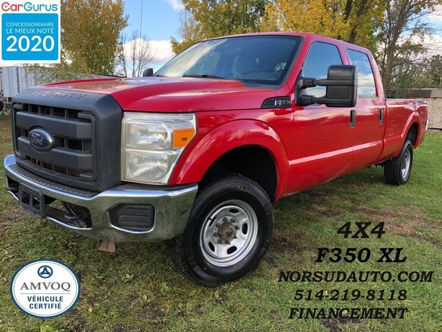 2012 Ford F-350 Super Duty XL Crew Cab 4WD