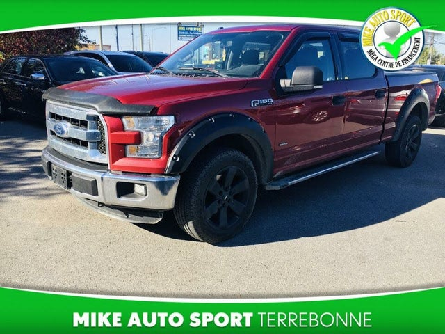 2016 Ford F-150 Lariat SuperCrew LB 4WD