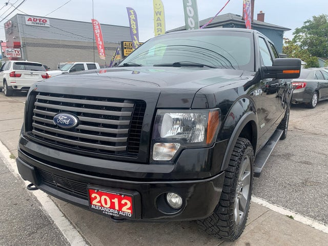 2012 Ford F-150 FX4 SuperCrew 4WD