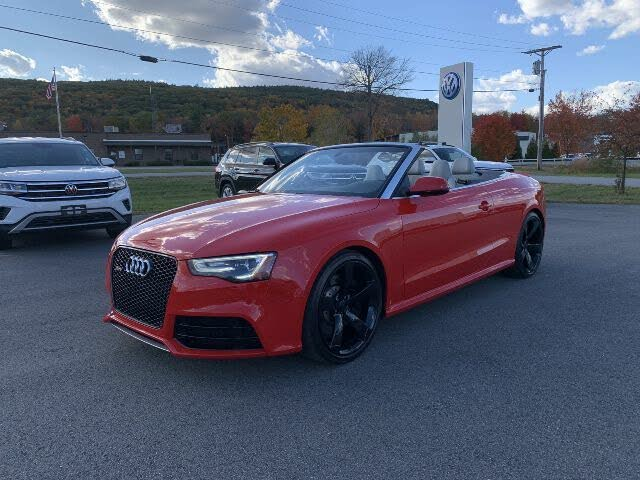 Used 2014 Audi Rs 5 Quattro Cabriolet Awd For Sale Right Now Cargurus
