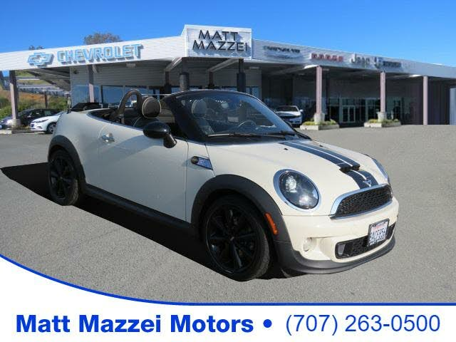 2014 MINI Roadster S FWD