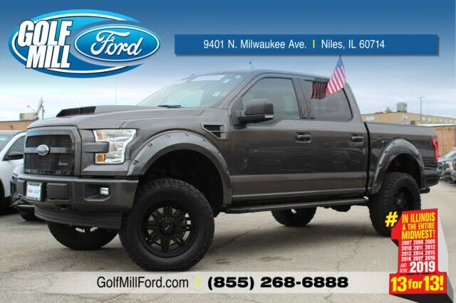2021 Ford F-150 Lariat SuperCrew 4WD for Sale in Chicago ...