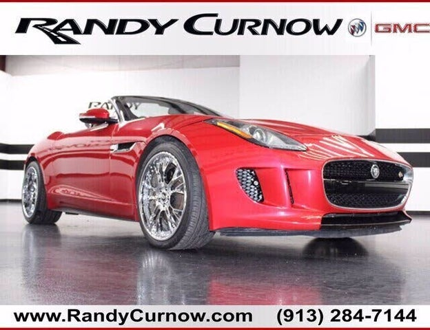2014 Jaguar F-TYPE S V8 Convertible RWD