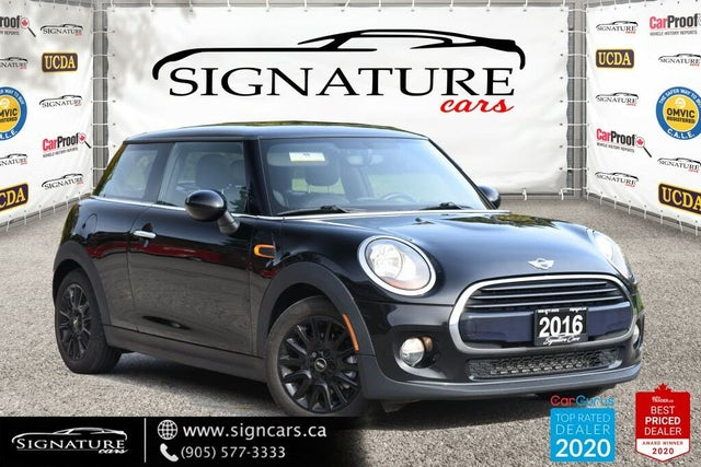 2016 MINI Cooper 2-Door Hatchback FWD