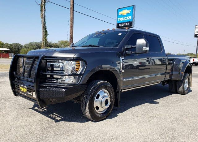 2018 Ford F-350 Super Duty Limited Crew Cab LB DRW 4WD